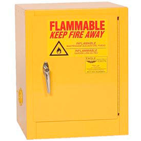 Eagle Compact Flammable Cabinet - Self Close Door 4 Gallon
