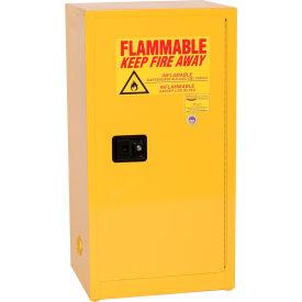 Eagle Compact Flammable Cabinet - Self Close Door 16 Gallon