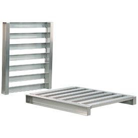 Aluminum Pallet 40x48x5 Two Way