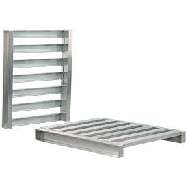 Aluminum Pallet 40x48x5 Two Way