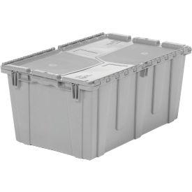 ORBIS Flipak® Distribution Container FP243M - 26-7/8-17 x 12 Gray - Pkg Qty 3