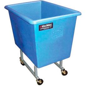 Dandux Blue Elevated Plastic Box Truck 51130P04U 4 Bushel Capacity