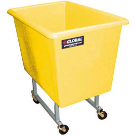Dandux Yellow Elevated Plastic Box Truck 51130P04Y 4 Bushel Capacity