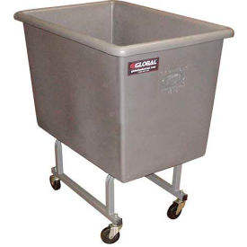 Dandux Gray Elevated Plastic Box Truck 51130P06A 6 Bushel Capacity