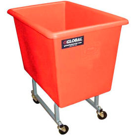 Dandux Red Elevated Plastic Box Truck 51130P06R 6 Bushel Capacity