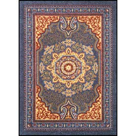 """NoTrax® Orientrax™ Entrance Rug, 3/8"""" Thick, 4' x 6' , Sapphire"""