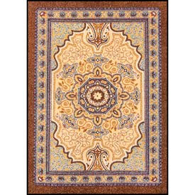 "NoTrax® Orientrax™ Entrance Rug, 3/8"" Thick, 4' x 6', Mocha"