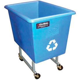 Elevated Poly Recycling Trucks - 4 Bushel