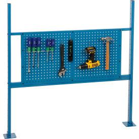 """48""""W Workbench Pegboard Kit Blue"""