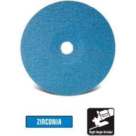 "CGW Abrasives 48105 Resin Fibre Disc 4-1/2"" DIA 60 Grit Zirconia - Pkg Qty 25"
