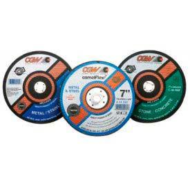 "CGW Abrasives 37574 Metal Cut-Off Wheel 7"" x 5/8"" Type 1 30 Grit Silicon Carbide - Pkg Qty 25"