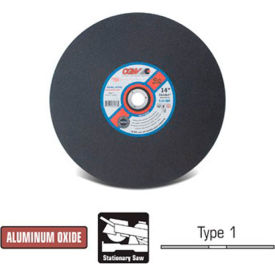 "CGW Abrasives 70111 Cut-Off Wheel 10"" x 5/8"" 24 Grit Type 1 Aluminum Oxide - Pkg Qty 10"