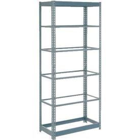 "Heavy Duty Shelving 48""W x 18""D x 84""H With 6 Shelves, No Deck"