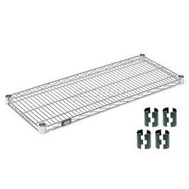 Poly-Z-Brite Wire Shelf 14x60 with Clips