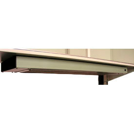 """Deluxe Dual Bulb Fixture with Lighted On/Off Switch, 48"""" long"""