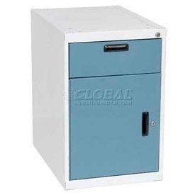 Steel Modular Cabinet with Locking Left Hand Swinging Door