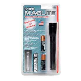 Maglite® M2A016 2 Cell AA Mini Flashlight Black