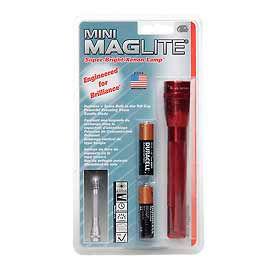 Maglite® M2A036 2 Cell AA Mini Flashlight Red