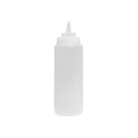 Squeeze Bottle - Update International 24 Ounce Clear Wide Mouth