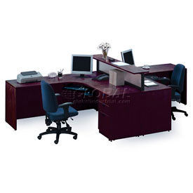 Strange Desks Office Collections Storlie 2 Person L Desk Machost Co Dining Chair Design Ideas Machostcouk