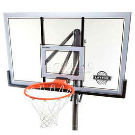 Lifetime® In-Ground Competition Power Lift Basketball System