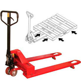 Wesco 4-Way Pallet Truck 4000 Lb. Capacity