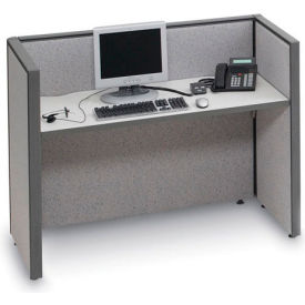 Add-On Station For Four Person Telemarketing Station