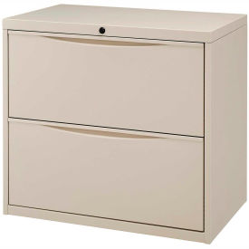 Interion™ 30= Premium Lateral File Cabinet 2 Drawer Putty