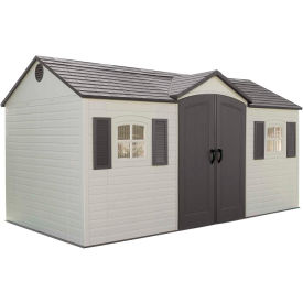 Lifetime Storage Shed 15' x 8' Side Entry With Windows