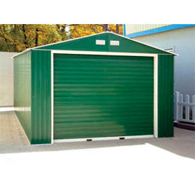 Buildings & Storage Sheds | Sheds-Metal | DuraMax Large Metal Garage