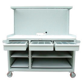Mobile Workstation With Riser