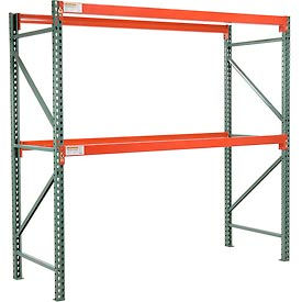 "Global Tear Drop Pallet Rack Starter 48""W X 36""D X 96""H"