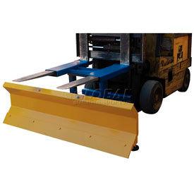 "Fork Truck Snow Plow - 72"" Wide Blade"