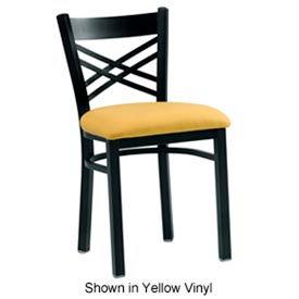 "Cross Back Chair 17-1/2""W x 17""D x 31""H - Mahogany"