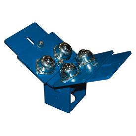 Optional Adjustable Roller Plate Top STAND-T for Vestil Portable Roller Stands