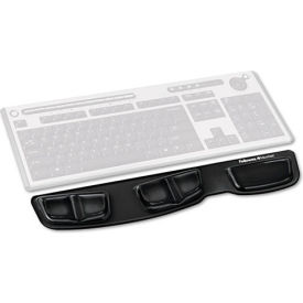 Fellowes® Keyboard Palm Support With Microban® Protection - Pkg Qty 4
