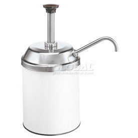 Server 83000, Stainless Steel Pump & Lid, Fit #10 Can,Thick Condiments