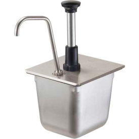 Server 83400, Stainless Steel Pump For a 1/6-Size Steam Table Pan