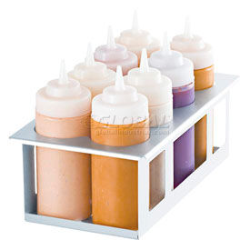 Server Cold Table Eight Bottle Holder, Holds (8) 16 Oz. Squeeze Bottles  - 86974