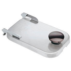 Server 82545, Stainless Steel Hinged Lid, For Use w/ Plastic Fountain Jars