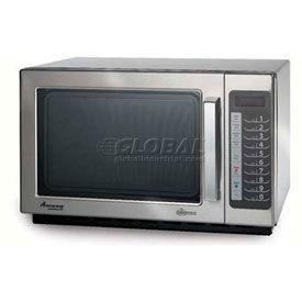 Amana® 1.2 Cu. Ft. 1000 Watt, 100 Programmable Item Commercial Microwave