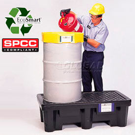 UltraTech Ultra-Spill Economy Containment Pallet P2 2-Drum with No Drain 2504