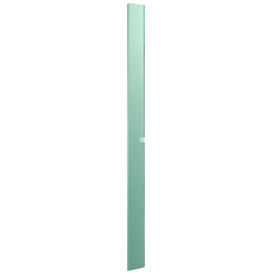 """Stainless Steel Pilaster w/ Shoe - 7"""" W x 82"""" H"""