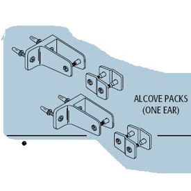 Alcove Hardware Kit One Ear