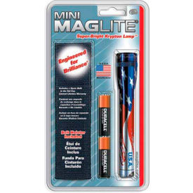 Maglite M2AAEH Flag-Lite 2 Cell AA Mini Flashlight & Holster Combo  by