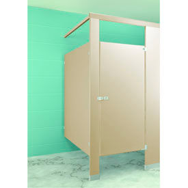 "Steel Complete In-Corner ADA Approved Compartment 60""W x 61 ¼""D - Almond"