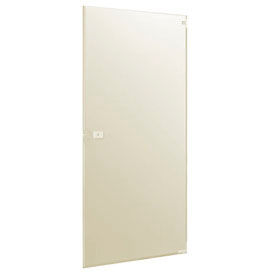 "Steel Inward Swing Partition Door - 23-5/8""W x 58""H (Almond)"