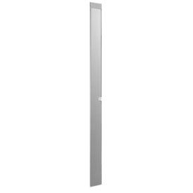 """Steel Pilaster with Shoe - 7""""W x 82""""H (Gray)"""