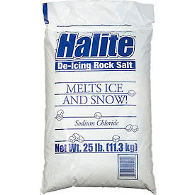 Halite RS25 Rock Salt 25 Lb Bag