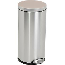 simplehuman® Round Step Can - 8 Gallon Brushed SS